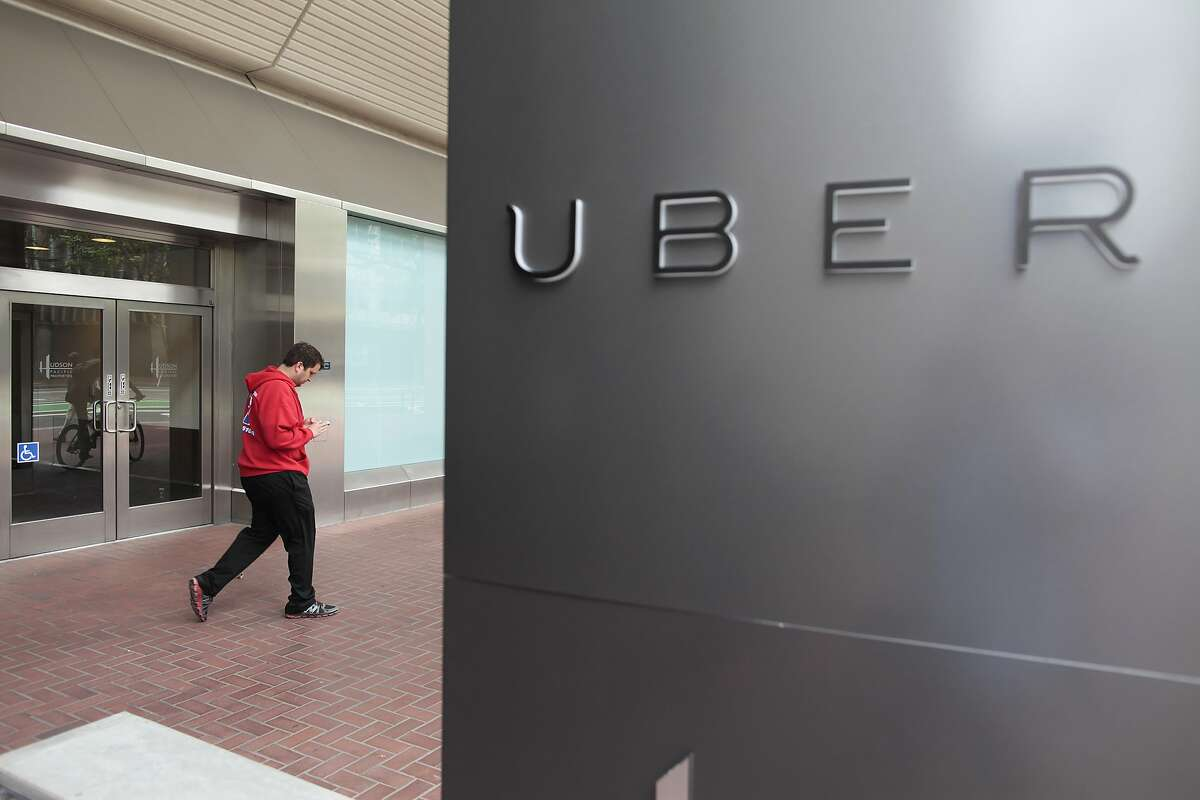 Uber's new office is located on Market St. in San Francisco, Calif. on Friday, May 30, 2014. This is Uber's seventh move.