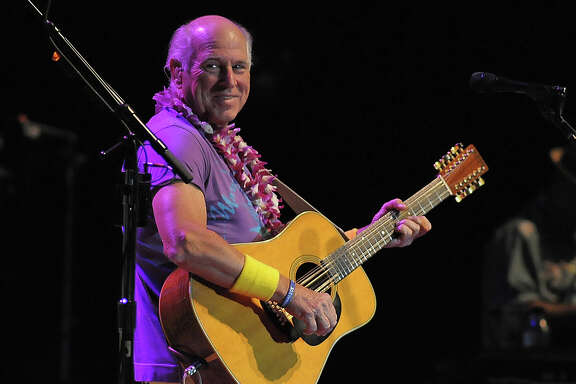 Jimmy Buffett performs at Cynthia Woods Mitchell Pavilion in The Woodlands Thursday May 29, 2014.