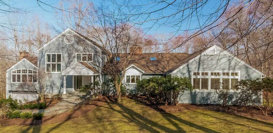 The house at 5 Bayberry Ridge Road is on the market for $1,299,000. Photo: Contributed Photo / Westport News
