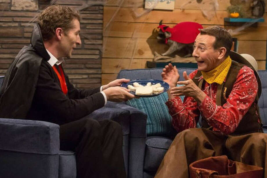 """""""Comedy Bang! Bang!: Season 2"""" (2012)– Scott Aukerman brings his popular podcast Comedy Bang! Bang! to television. Scott writes and stars in the series along with his co-host and bandleader, Reggie Watts, while featuring celebrity guests playing either themselves or characters. Available June 20 Photo: Netflix"""