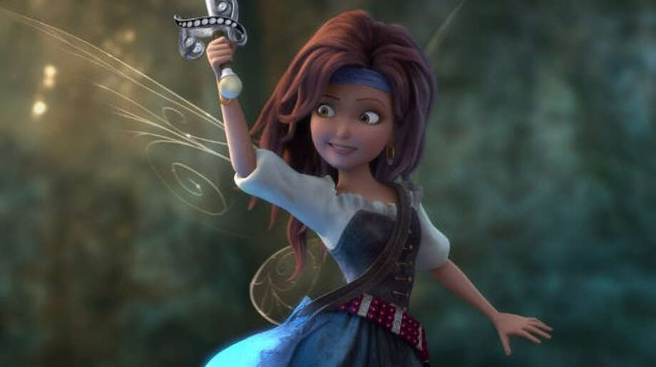 """""""The Pirate Fairy"""" (2014)– After free-spirited fairy Zarina makes off with some precious Blue Pixie Dust, Tinker Bell and her friends set out to find her -- only to discover that Zarina has fallen in with the wily pirates of Skull Rock. Available June 15 Photo: Netflix"""