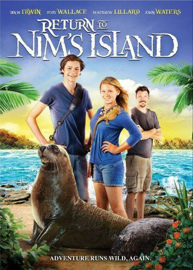 """""""Return to Nim's Island"""" (2013)– Young Nim Rusoe's adventures continue in this sequel as she and her father take on developers planning to transform their island home. While her father is away pursuing their cause, Nim begins a search for endangered animal species. Available June 15 Photo: Netflix"""