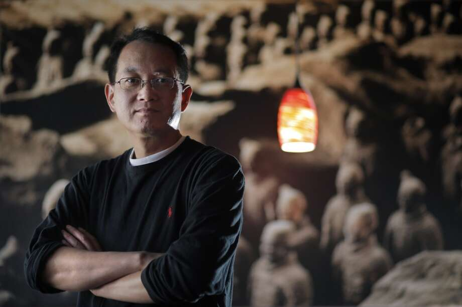 David Deng, the owner of Terra Cotta Warrior in San Francisco, Calif., which serves the food of the Shaanxi Province in China on Wednesday, May 28, 2014. Photo: The Chronicle