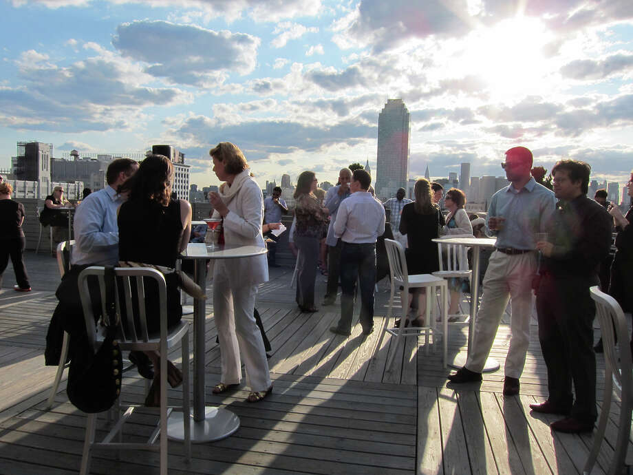 CityView Raquet Club.  Photo courtesy of CityView Raquet Club © 2014 Roof Explorer's Guide: 101 New York City Rooftops by Leslie Adatto Photo: Leslie Adatto, Contributed