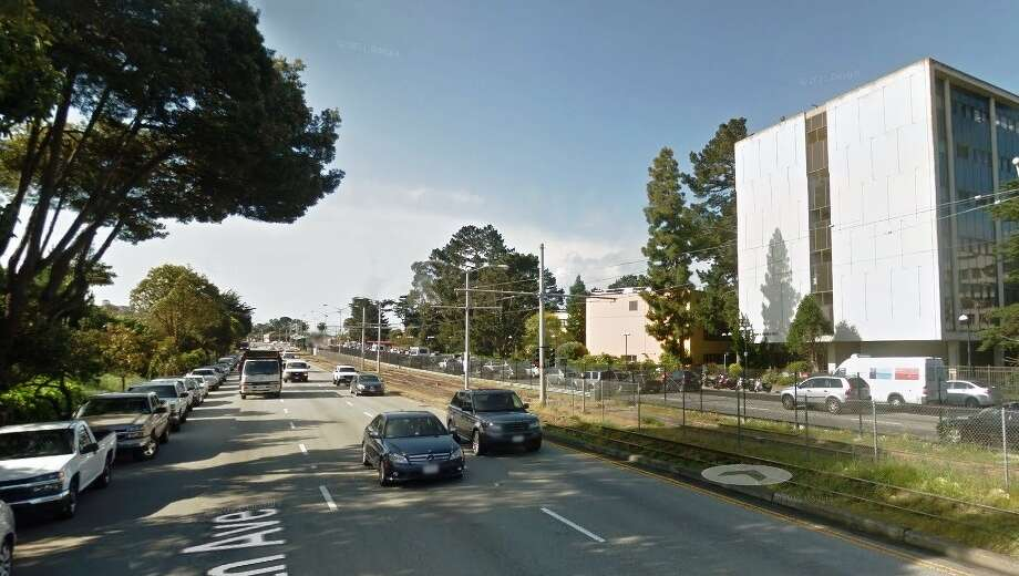 It's a trap! Slow down on 19th Avenue near San Francisco State University unless you want to pay a hefty fine. (Photo: Google Maps)