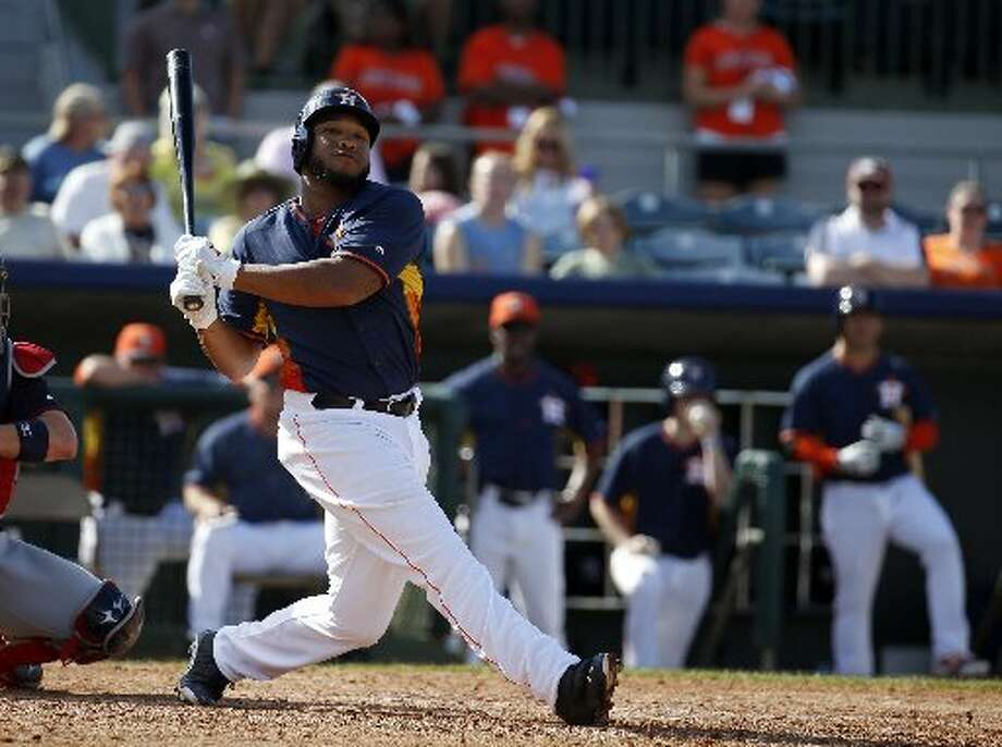 8. In spring training this year, Singleton didn't exactly set the world on fire with a .154 batting average but had four homers in 14 games. Photo: Alex Brandon, Associated Press