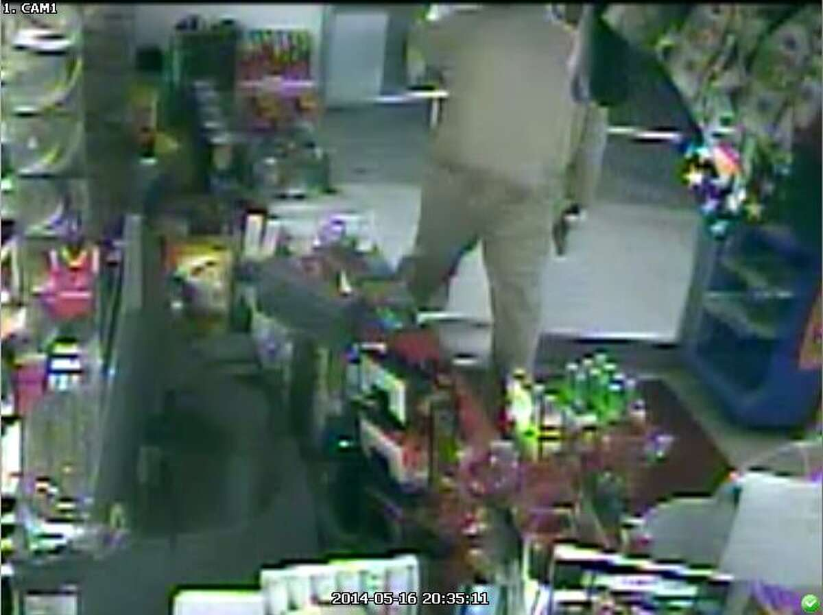 Deer Park and Pasadena police are looking for a suspect they say is responsible for at least four armed robberies in those cities.