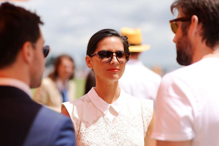 Actress Olivia Munn attends the seventh annual Veuve Clicquot Polo Classic in Liberty State Park on May 31, 2014 in Jersey City City. Photo: Dimitrios Kambouris, Getty Images For Veuve Clicquot