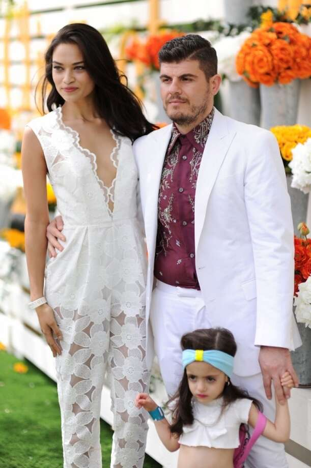 Model Shanina Shaik and Eli Mizrahi attends the seventh annual Veuve Clicquot Polo Classic in Liberty State Park on May 31, 2014 in Jersey City City. Photo: Dimitrios Kambouris, Getty Images For Veuve Clicquot