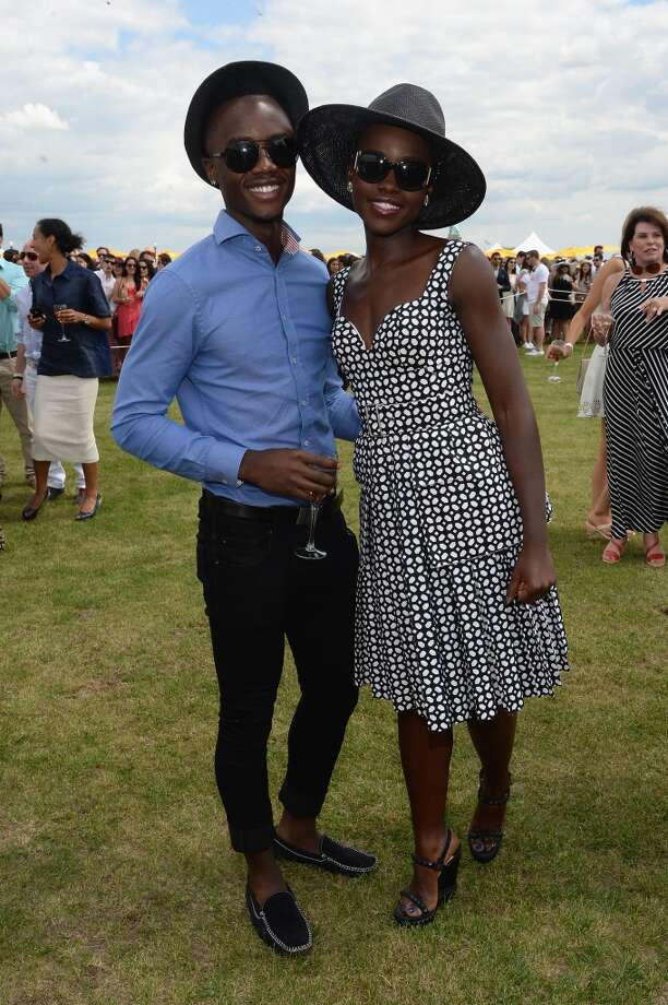 Peter Nyong'o and actress Lupita Nyong'o attends the seventh annual Veuve Clicquot Polo Classic in Liberty State Park on May 31, 2014 in Jersey City City. Photo: Jamie McCarthy, Getty Images For Veuve Clicquot