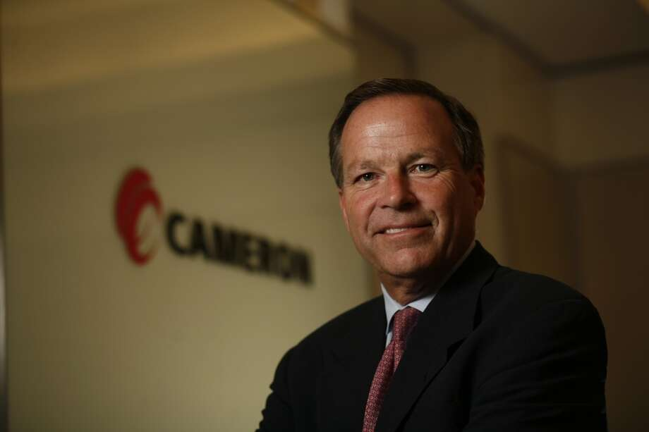 No. 286: Cameron International Previous Rank: 310 Headquarters: Houston, Texas  [Photo: Jack Moore,  CEO of Cameron International, is seen Tuesday at his corporation's West Loop headquarters. ] Photo: Steve Ueckert, Houston Chronicle