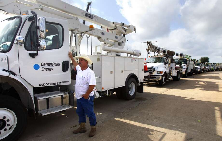 No. 333: CenterPoint Energy  Previous Rank: 344 Headquarters: Houston, Texas  [Photo: CenterPoint employee Shane Sobnosky prepares to leave for Oklahoma to assist with widespread power outages.] Photo: Cody Duty, Houston Chronicle