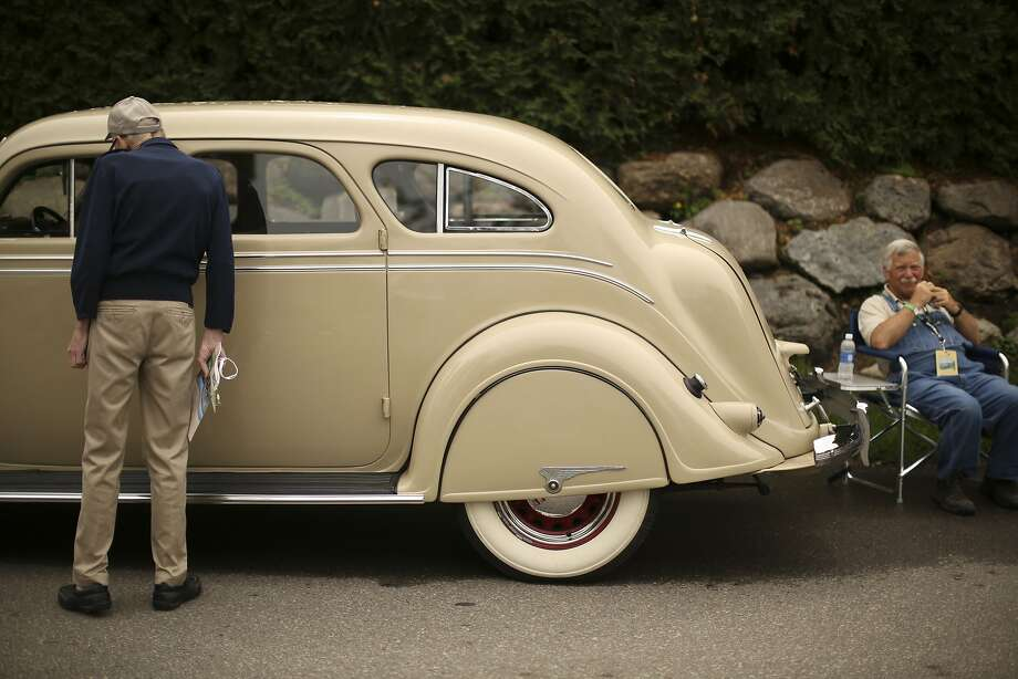Rare Air:Greg Biskey says his 1936 Chrysler Imperial Airflow didn't need much work when he got it, but the 