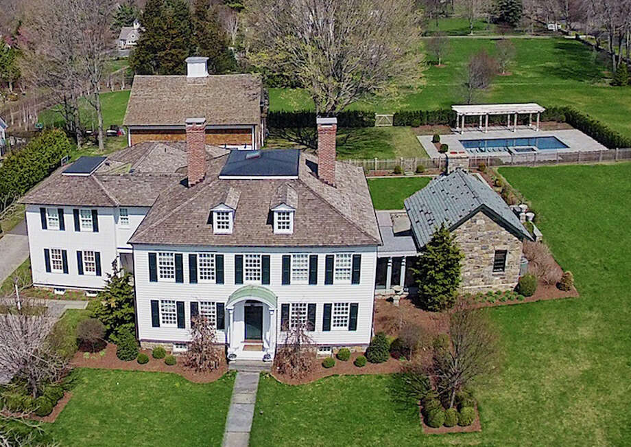 The house at 105 Meeting House Lane is on the market for $4,250,000. Photo: Contributed Photo / Fairfield Citizen