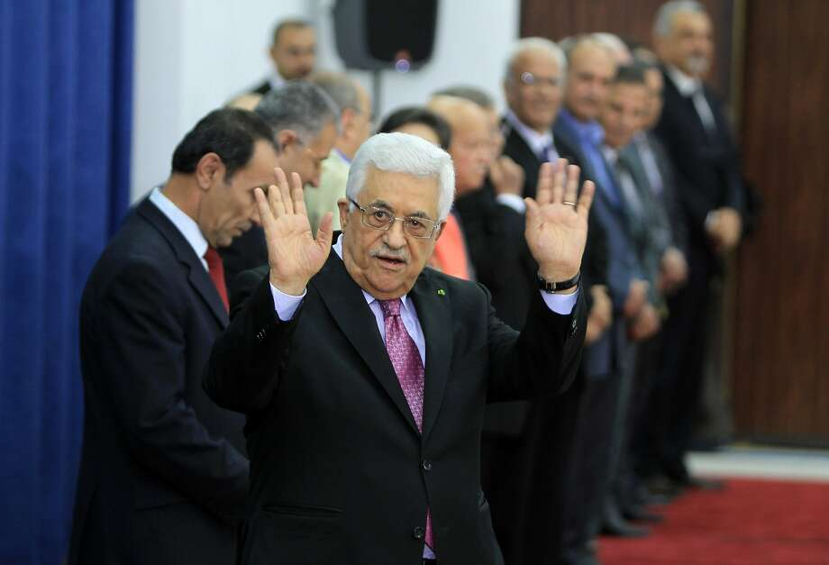 Israel threatens to impose sanctions in response to the move by Palestinian President Mahmoud Abbas. Photo: Abbas Momani, AFP/Getty Images