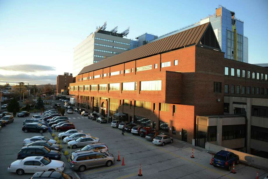 A view of Danbury Hospital from the hospital parking deck in Danbury, Conn. on Tuesday, Nov. 19, 2013.  The Danbury Hospital emergency room has much lower than average wait times for patients. Photo: Tyler Sizemore / The News-Times
