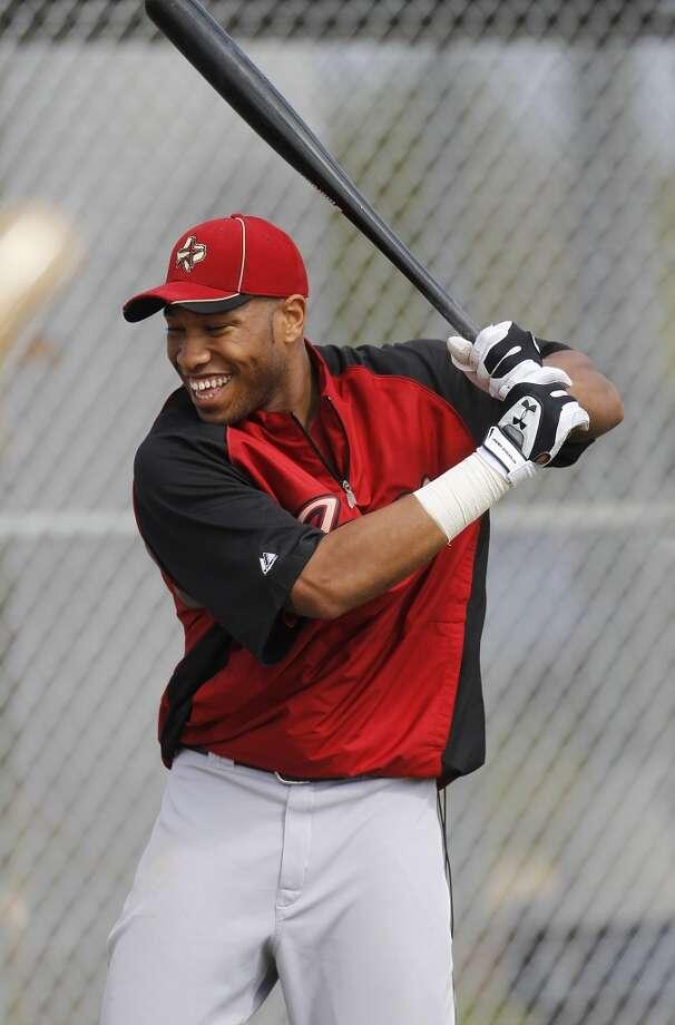 2. Singleton came to the Astros organization in 2011 as part of the mid-season trade that sent Hunter Pence from Houston to Philadelphia. Photo: Karen Warren, Houston Chronicle
