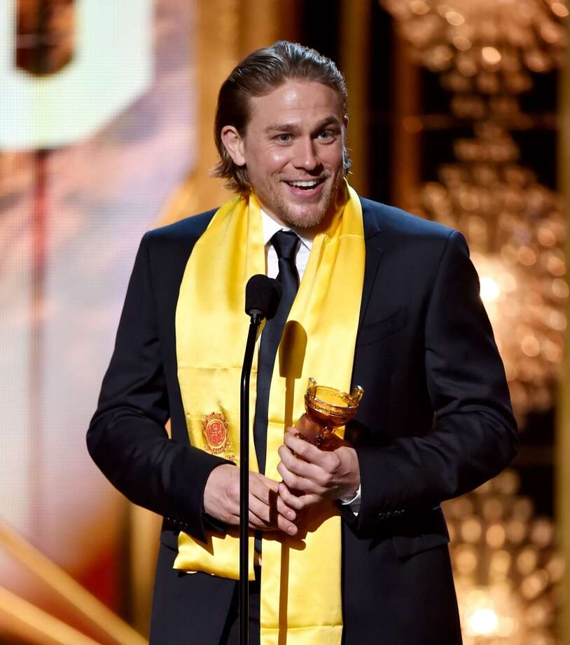 Actor Charlie Hunnam accepts the Global Emerging Actor Award at the 2014 Huading Film Awards at The Montalban Theatre on June 1, 2014 in Los Angeles, California. Photo: Kevin Winter, Getty Images