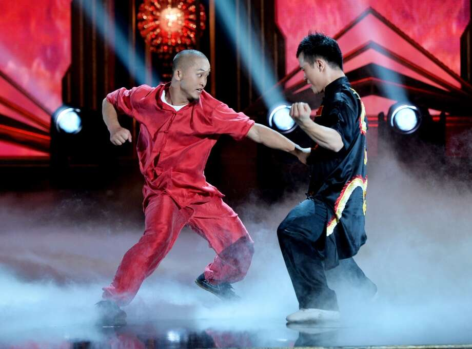 Shaolin Warriors perform at the 2014 Huading Film Awards at The Montalban Theatre on June 1, 2014 in Los Angeles, California. Photo: Kevin Winter, Getty Images