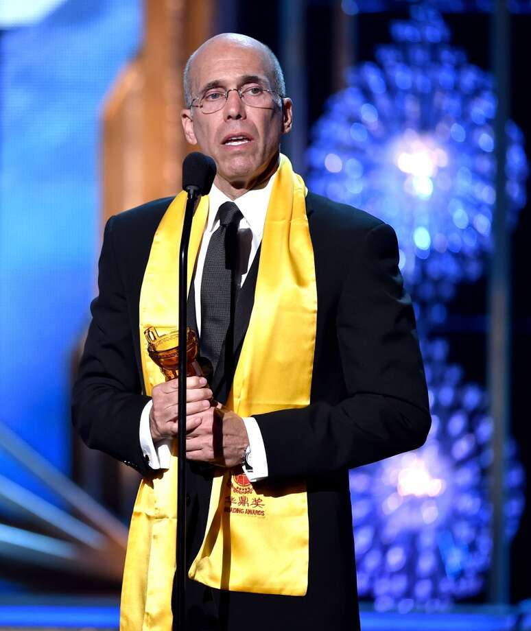 DreamWorks CEO Jeffrey Katzenberg accepts the Best Animated Film Award at the 2014 Huading Film Awards at The Montalban Theatre on June 1, 2014 in Los Angeles, California. Photo: Kevin Winter, Getty Images