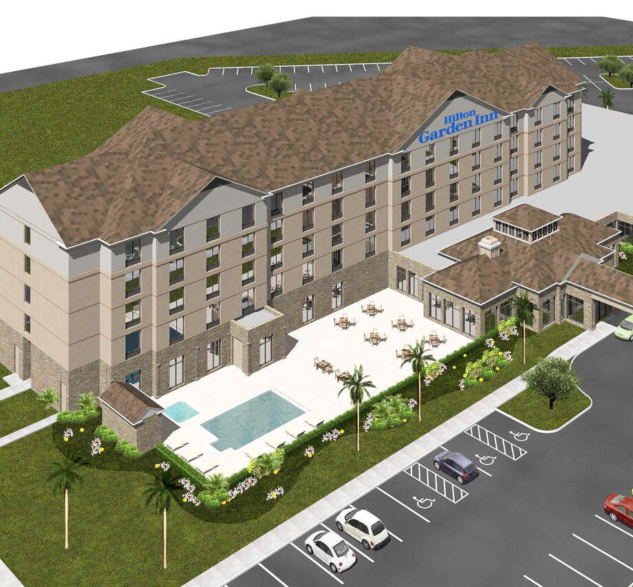 The Hilton Garden Inn will bring 139 rooms and a lineup of Hilton-class amenities to the Metrocom, next to property that had been the site of the Live Oak Civic Center.