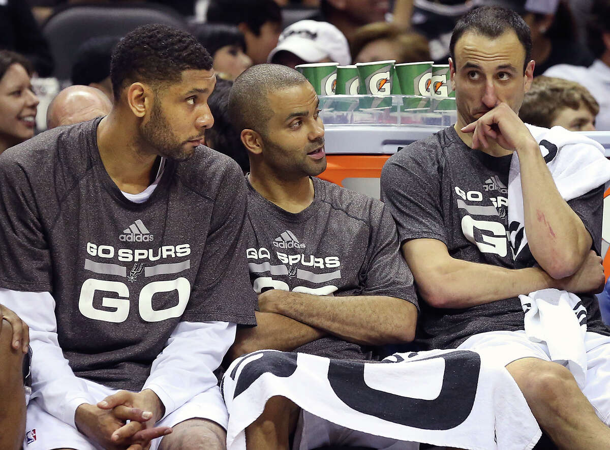 I'm thankful for The Big Three, Timmy, Tony and Manu, and their loyalty to San Antonio and to one another.