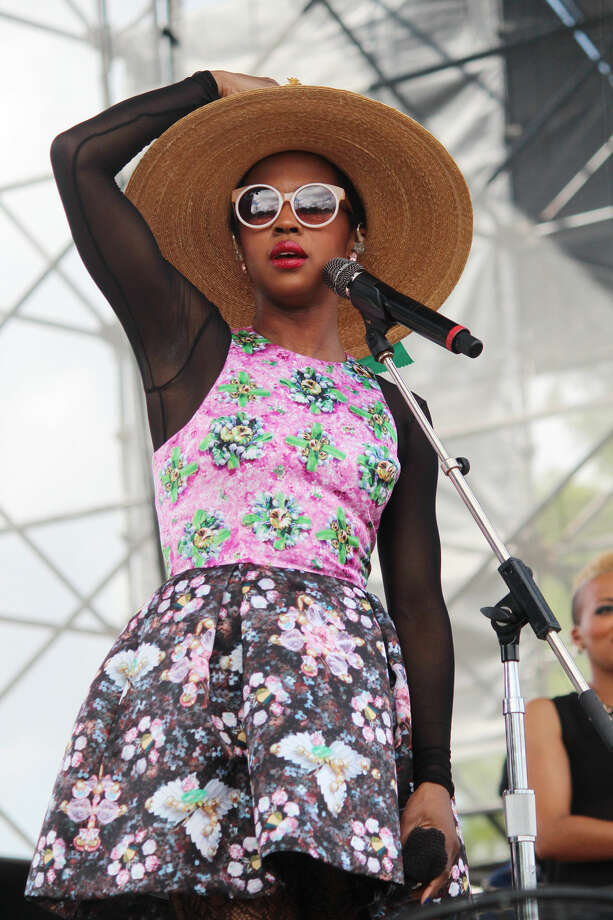 Lauryn Hill s Sunday set at the Free Press Summer Festival Photo: Jorge Valdez