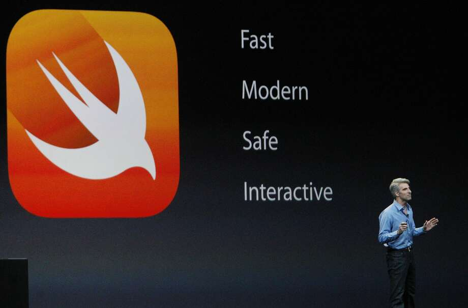 The company is also rolling out new software tools, like HealthKit and HomeKit, to get developers more invested in the Apple ecosystem. Photo: Lea Suzuki, The Chronicle