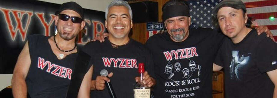 Wyzer, a rock-and-roll band based in San Marcos, is part of the lineup at the Roaming Skullz Motorcycle Club's Meet & Greet fundraiser Saturday at Leon's Ice House, 1953 W.W. White Road. Photo: Courtesy / Wyzer