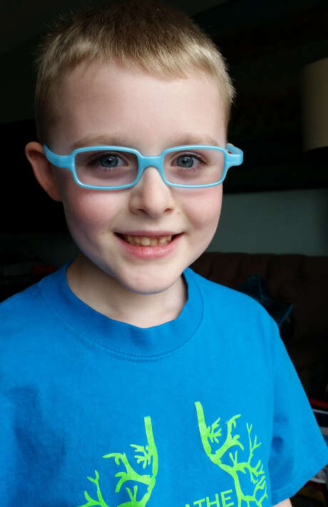 Brady Schroeder, 6, takes Kalydeco for cystic fibrosis, with vast improvement cited. Photo: Courtesy Photo / Courtesty of Rebecca Schroeder