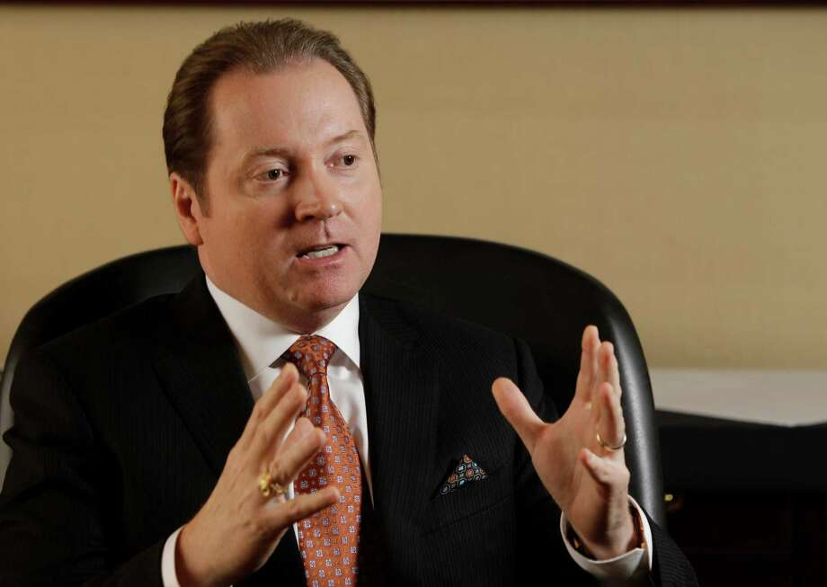22. Lee M. Tillman, Marathon Oil Corp.Chairman and CEOTotal compensation:$10.8 millionStock returns in 2013:18 percentBase salary:$392,307Bonus:$3,875,000Non-equity incentive:N/ATotal equity:$6,423,201Other compensation:$42,153 Photo: Melissa Phillip, Staff / © 2013  Houston Chronicle