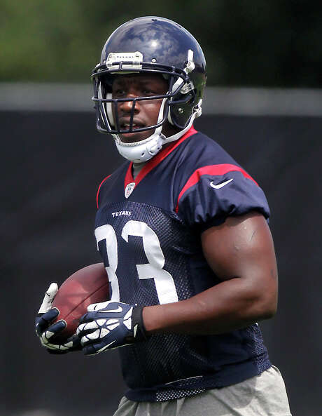 Andre Brown starts his tenure with the Texans as an early favorite to claim the backup running back job. Photo: J. Patric Schneider, Freelance / © 2014 Houston Chronicle