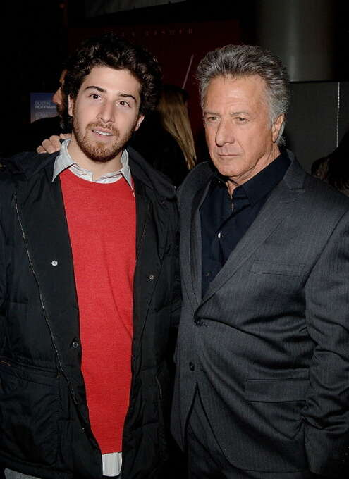 Dustin Hoffman at the opening of LAST CHANCE HARVEY (2008). He played Emma Thompson's last chance than love but seemed more like a fate worse than death. Photo: Jamie McCarthy, WireImage / 2008 WireImage
