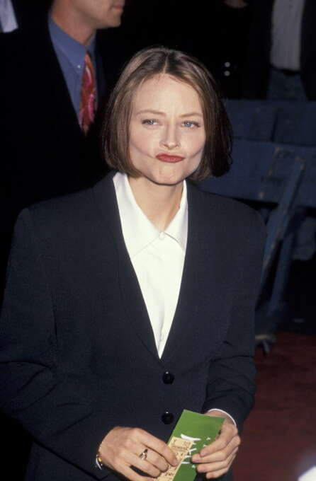 "Jodie Foster during ""Nell"" New York City Premiere at Ziegfeld Theater in 1994.  One of the most misbegotten films and performances of modern history. Photo: Ron Galella, WireImage / Ron Galella Collection"