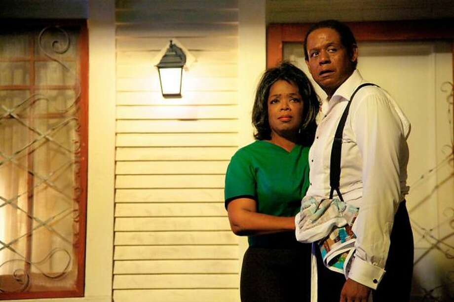 Forest Whitaker in THE BUTLER -- maybe it wasn't entirely his fault, stuck as he was in a role of absolute passivity.  But he barely changed expression the whole movie.