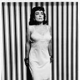 Promo shot of Joan Crawford for the film 'Strait-Jacket' (1964).  Joan just wouldn't let go.  But she should have.