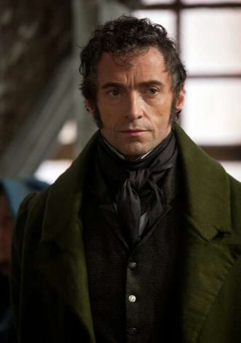 Hugh Jackman in LES MISERABLES (2012).  He always seems like a good person, and that helped here.  But the singing wobbled.
