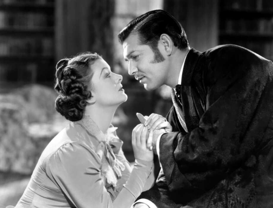 Clark Gable in PARNELL (1937) -- a notorious flop which miscast Gable as an Irish freedom fighter.