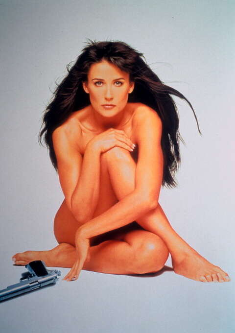 Demi Moore in 'Striptease', 1996. The movie was supposed to be a comedy, but Moore approached her strip scenes as though they were as akin in importance as world peace and the fate of nations.  A colossal misfire. Photo: Archive Photos, Getty Images / 2012 Getty Images