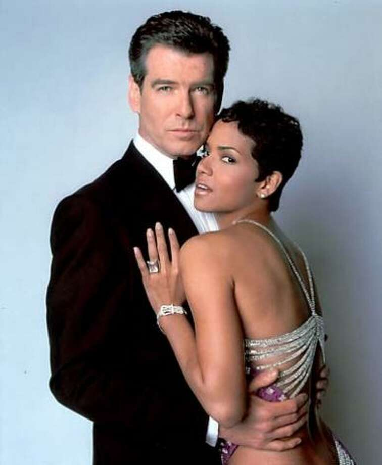 Halle Berry in DIE ANOTHER DAY -- she seemed awkward and uncomfortable and acted downright odd as a Bond girl, though that might speak well of her.