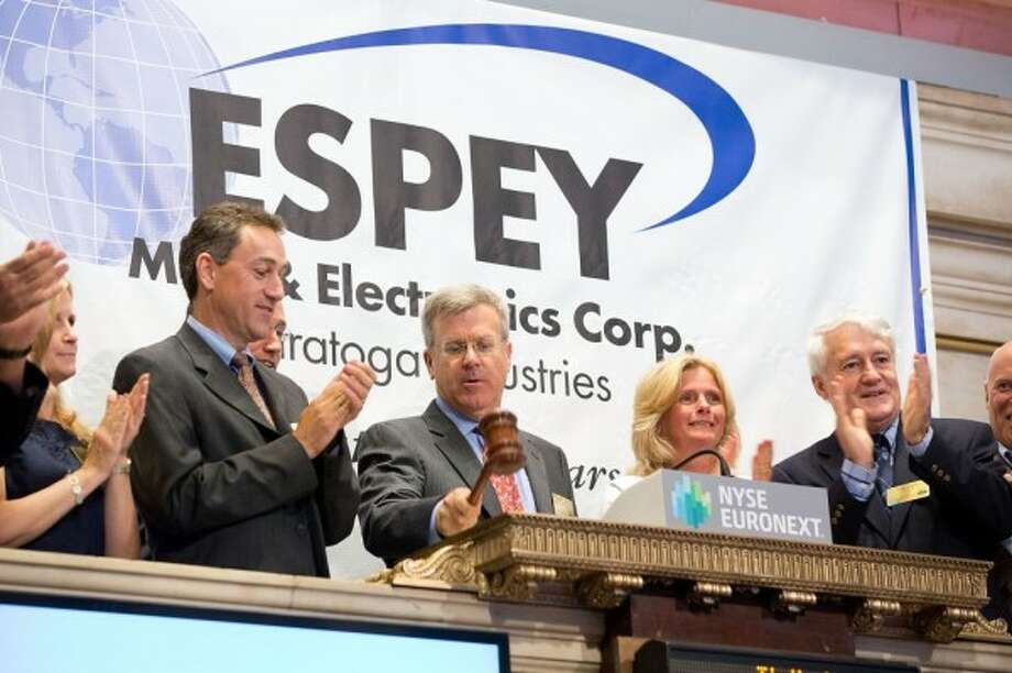 Espey Mfg. in Saratoga Springs is seeking to expand with a $5.3 million project. The company's shares trade on the NYSE Euronext.