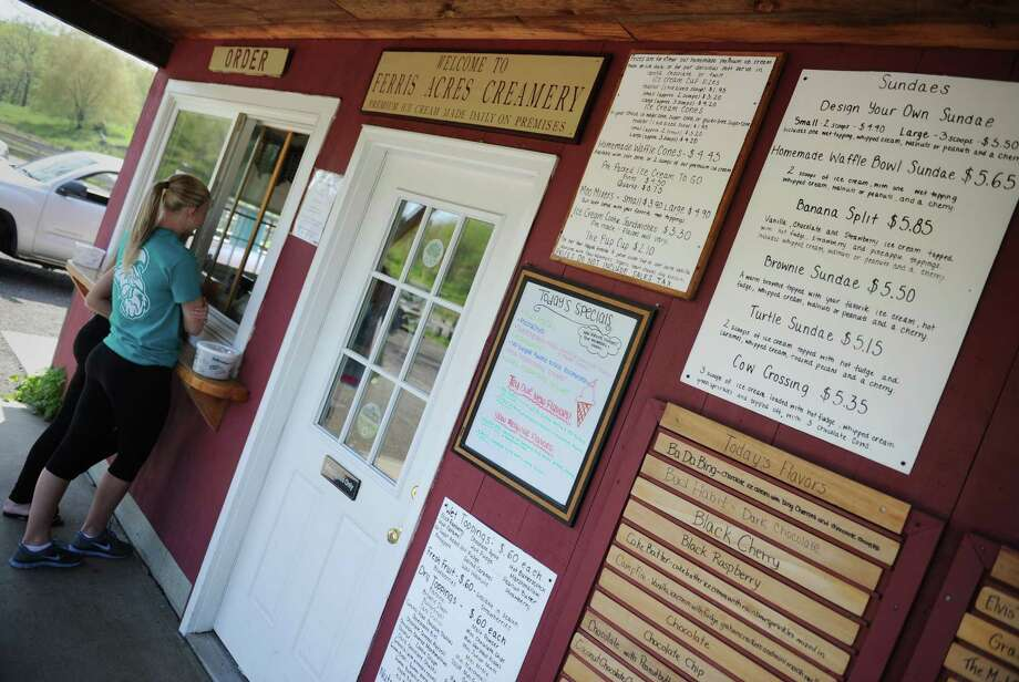 Ferris Acres Creamery, at 144 Sugar St., Newtown was the top vote-getter in our 'Best of Summer -- Place to Eat Ice Cream' poll. The shop, which celebrates its 10th year anniversary this year, sells ice cream made from milk produced by cows on the farm. Photo: Tyler Sizemore / The News-Times