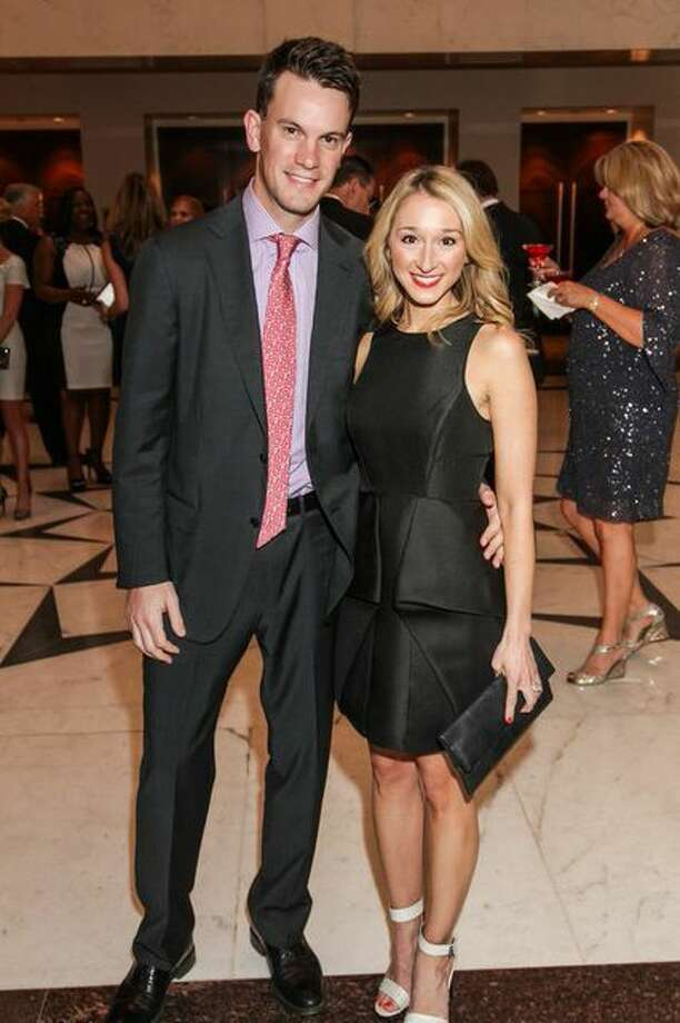 James and Erin O'Leary Stewart at the Mission of Yahweh Mission Incredible Gala, A Heavenly Evening in Musical, Magical Vienna. May 2, 2014, Hilton Houston Post Oak. Photo: Kim Coffman