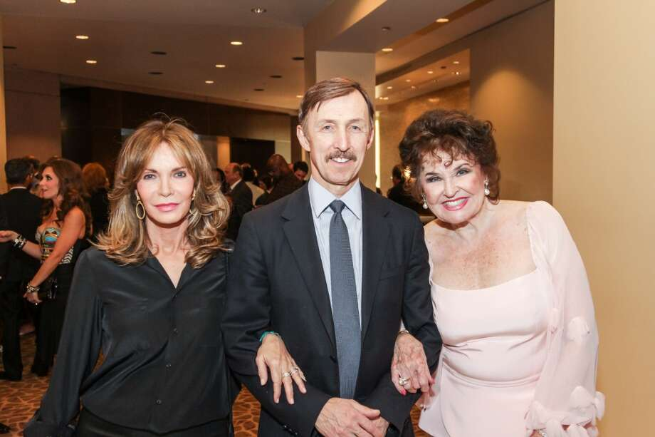 Jaclyn Smith, Dr. Brad Allen and Warner Roberts at the Mission of Yahweh Mission Incredible Gala, A Heavenly Evening in Musical, Magical Vienna. May 2, 2014, Hilton Houston Post Oak. Photo: Kim Coffman