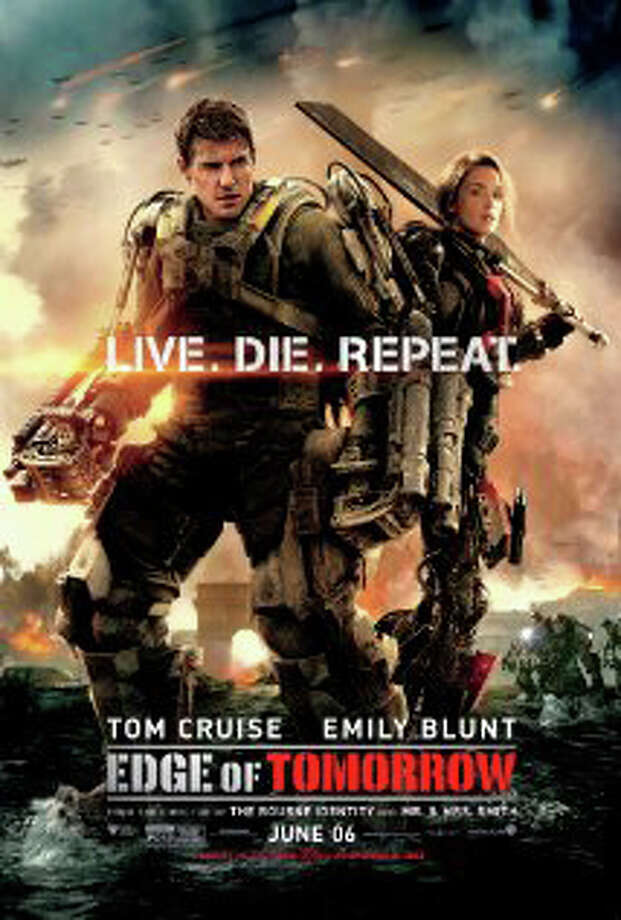 "Our film critic, Susan Granger, reviews ""Edge of Tomorrow."" Photo: Contributed Photo, Contributed / New Canaan News Contributed"