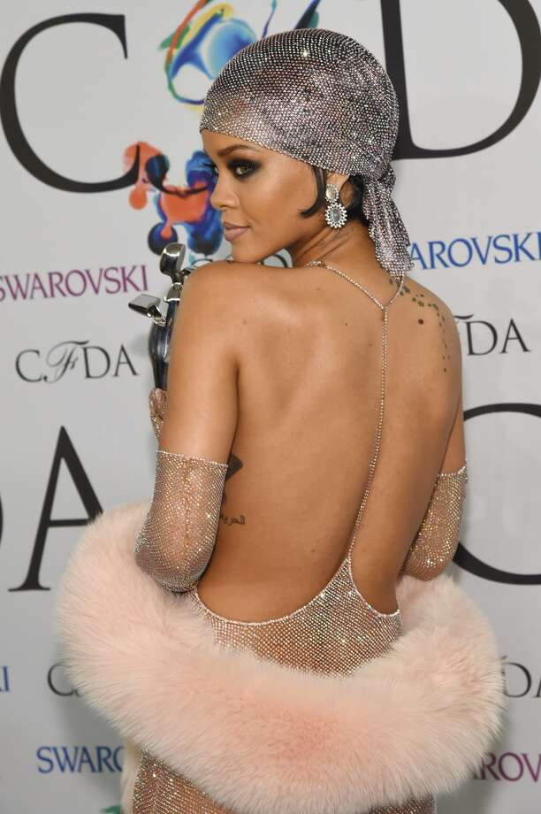 Fashion Icon award recipient Rihanna attends the winners walk during the 2014 CFDA fashion awards at Alice Tully Hall, Lincoln Center on June 2, 2014 in New York City. Photo: Larry Busacca, Getty Images