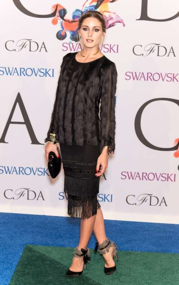 Olivia Palermo attends the 2014 CFDA fashion awards at Alice Tully Hall, Lincoln Center on June 2, 2014 in New York City. Photo: Gilbert Carrasquillo, FilmMagic