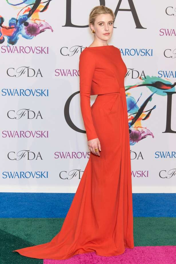 Actress Greta Gerwig attends the 2014 CFDA fashion awards at Alice Tully Hall, Lincoln Center on June 2, 2014 in New York City. Photo: Gilbert Carrasquillo, FilmMagic