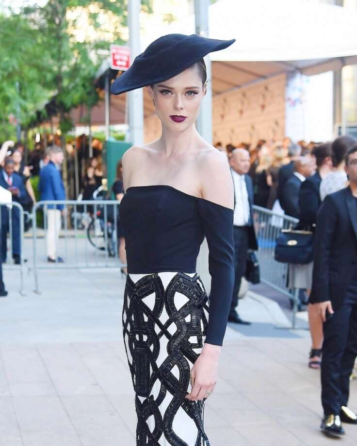 Coco Rocha is seen on June 2, 2014 arriving at The 2014 CFDA Fashion Awards in New York City. Photo: NCP/Star Max, GC Images