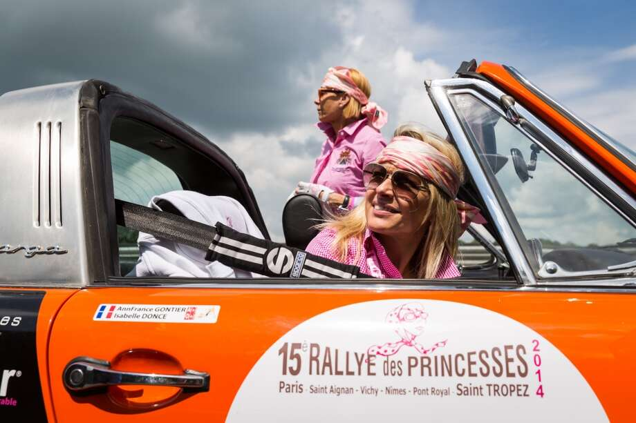 A general view of atmosphere at Circuit Maurice Tissandier during the 15th Rallye des Princesses on June 2nd, 2014 in La Chatre, France. Photo: Getty Images